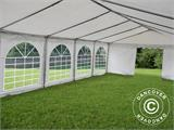 Marquee Exclusive 5x12 m PVC, White - 9