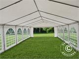 Marquee Exclusive 5x12 m PVC, White - 10