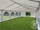 Marquee Exclusive 5x12 m PVC, White - 11