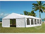 Marquee Exclusive 6x12 m PVC, White - 2
