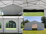 Marquee Exclusive 6x12 m PVC, White - 7