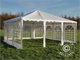 Pagoda Marquee Exclusive 6x6 m PVC, White - 3