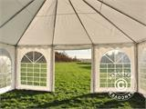Pagoda Marquee Exclusive 6x6 m PVC, White - 5