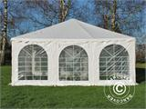 Pagoda Marquee Exclusive 6x6 m PVC, White - 6
