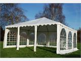 Pagoda Marquee Exclusive 6x6 m PVC, White - 10