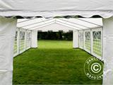 Partytent PLUS 4x10m PE, Grijs/Wit - 4