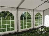 Carpa para fiestas, SEMI PRO Plus CombiTents® 6x12m 4 en 1, Blanco - 18