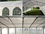 Partytent, SEMI PRO Plus CombiTents® 6x12m 4-in-1, Wit/Grijs - 11