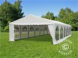 Partytent Exclusive 5x12m PVC, Wit - 1