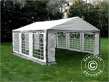 Partytent PLUS 5x6m PE, Grijs/Wit - 1