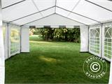 Partytent PLUS 5x6m PE, Grijs/Wit - 10