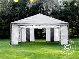 Partytent PLUS 5x6m PE, Grijs/Wit - 14