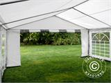 Partytent PLUS 5x6m PE, Grijs/Wit - 19