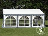 Marquee Original 3x6 m PVC, Grey/White - 1