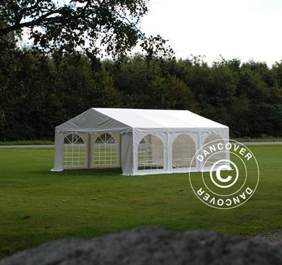Blanc Tente de réception Original 5x6m PVC