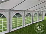 Tente de réception Original 5x10m PVC, Blanc - 8