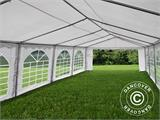 Tente de réception Original 5x10m PVC, Blanc - 9