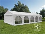Tente de réception Original 5x10m PVC, Blanc - 10