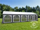 Marquee Original 5x10 m PVC, Grey/White - 4