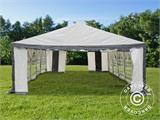Marquee Original 5x10 m PVC, Grey/White - 5