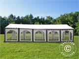 Marquee Original 5x10 m PVC, Grey/White - 11
