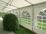 Marquee Exclusive 6x10 m PVC, White - 12