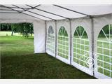 "Tente de réception Exclusive 6x10m PVC, ""Arched"", Blanc - 5"
