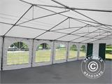 Marquee Exclusive 6x12 m PVC, Green/White - 8