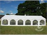 "Partytelt Exclusive 6x12m PVC, ""Arched"", Hvit - 1"