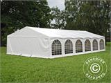 "Partytelt Exclusive 6x12m PVC, ""Arched"", Hvit - 2"