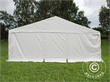 "Partytelt Exclusive 6x12m PVC, ""Arched"", Hvit - 3"