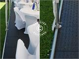 Tendone per feste Exclusive 6x12m PVC, Bianco - 11