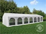 Tendone per feste, Exclusive CombiTents® 6x14m, 5 in 1, Bianco - 2