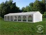 Tendone per feste, Exclusive CombiTents® 6x14m, 5 in 1, Bianco - 3