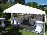 Tendone per feste, Exclusive CombiTents® 6x14m, 5 in 1, Bianco - 8