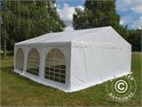 Tente de réception Original 6x6m PVC, Blanc - 12