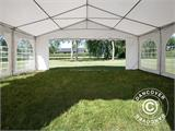Partytent Original 6x8m PVC, Wit - 4