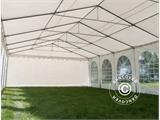 Partytent SEMI PRO Plus 6x8m PVC, Wit - 3