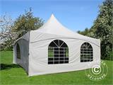 Pagoda Marquee PartyZone 5x5 m, PVC, White - 2