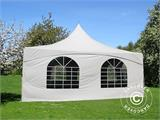 Pagoda Marquee PartyZone 5x5 m, PVC, White - 3