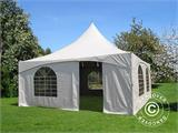 Pagoda Marquee PartyZone 5x5 m, PVC, White - 8