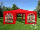Pagodetent UNICO 6x6m, Rood - 1
