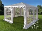 Pagodetent Exclusive 4x4m PVC, Wit - 2