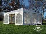 Carpa Pagoda Exclusive 6x6m PVC, Blanco - 1