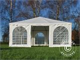 Carpa Pagoda Exclusive 6x6m PVC, Blanco - 2