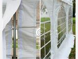 Carpa Pagoda Exclusive 6x6m PVC, Blanco - 13