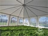 Partytent Exclusive 7x7m PVC, Wit - 10