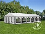 Marquee Exclusive 6x12 m PVC, Grey/White - 2
