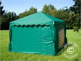 Marquee UNICO 3x3 m, Dark Green - 6