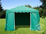 Marquee UNICO 3x3 m, Dark Green - 8